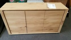 NEW Ethnicraft Oak Shadow Sideboard 3 Doors 156/45 61