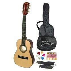 """Pyle-Pro 30"""" Classical Acoustic 6 String Linden Traditional Style Guitar wWood"""