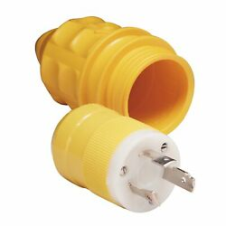 Marinco 305crpn.vpk Male Plug And Cover 30 Amp 125 Volt
