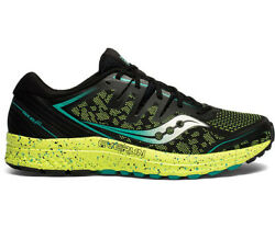 Saucony Guide ISO 2 TR Mens Trail Running Shoes - Black Citron