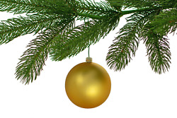2.5in Large Matte Gold Christmas Ball Ornaments Shatterproof Plastic 80mm