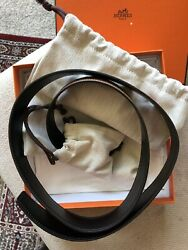 Hermes H Belt Buckle And Reversible Leather Strap 32 Mm