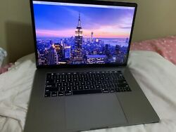 """Apple Macbook Pro 15"""" Laptop With Touch Bar, 256gb, 2.2 Ghz Intel Core I7, 16gb"""