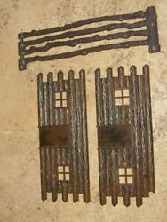 Marx Mpc Lido Western Cowboy And Indians Playset For Front Gate Door Parts Old 50s