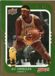 2008-09 Upper Deck Mvp - Wilt Chamberlain - Gold Script Signature - Lakers /100
