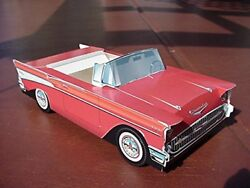 18 Classic 1957 Chevy Cars Kids Food Tray Box Table Center Party Favor