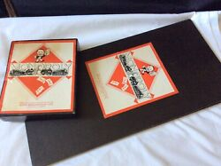 Vintage Monopoly Boxed Game Set Complete 1940s Card Tokens Pat No 3796-36