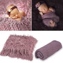 Baby Photography Props Newborn Photo Blanket Wrapped Cloth Set Photo Studio Prop