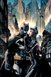 Jim Lee Signed Batman Hush Dc Giclee On Paper Limited Edition Of 250 80th Anniv