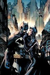 Jim Lee Signed Batman Hush Dc Giclee On Canvas Limited Edition Of 100 80th Anniv