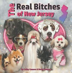 Lot of 50 THE REAL BITCHES of NEW JERSEY funny BOOK dogs with a Jersey attitude
