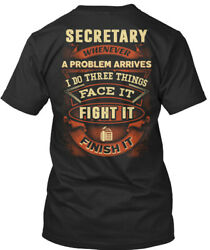 Great gift Awesome Secretary Premium Jersey V-Neck Premium Jersey V-Neck $19.99