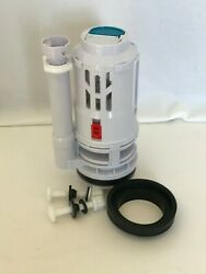Nuflush Dual Button Flush Valve With Rubber Grommet And Nylon Bolts