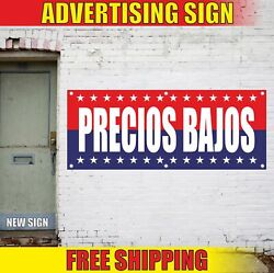 Precios Bajos Advertising Banner Vinyl Mesh Decal Sign Spanish Best Low Prices