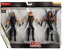 WWE Elite Collection Then Now Forever Seth Rollins Dean Ambrose and Roman ..