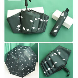 Portable UV Protection Sunshade Compact 3 Folding Pocket Totes Umbrellas $15.89