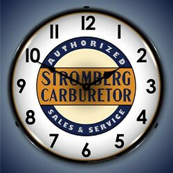 Stromberg Service Wall Clock Led Lighted
