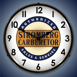 Stromberg Service Wall Clock, Led Lighted