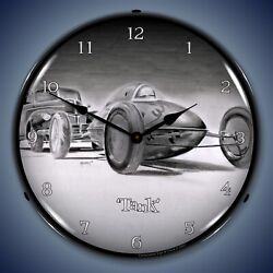 Tim Odell Tank Wall Clock, Led Lighted