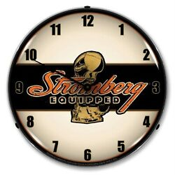 Stromberg Equipped Wall Clock, Led Lighted