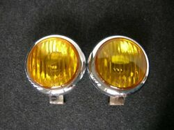 Amber Hassi Foglights Porsche 911 A Pre A Vw Bug Yellow Fog Lights Lamps Vintage
