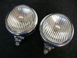 Volkswagen Vw Foglights Beetle Bug Karmann Bus T1 Oval Split Heb Perohaus Ghe
