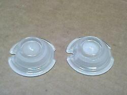 Guide Bullet Signal Marker Lamp Lens White Frosted Panhead