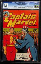 CAPTAIN MARVEL ADVENTURES (1941-53) #28 NM+ 9.6