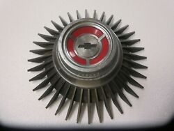67 Corvette N89 Kelsey Hayes Bolt On Starburst Center Cap Gm Nice 427 327