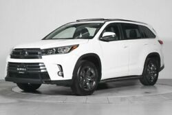 2018 Toyota Highlander Limited Platinum *CALL GREG ZIEMER FOR DETAILS AND FREE HISTORY REPORT*