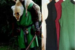 Medieval Gladiator Tunic SCA Larp Pirate Renaissance Cosplay Viking Shirt