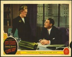 COME LIVE WITH ME (1941) 28727    VERREE TEASDALE and IAN HUNTER
