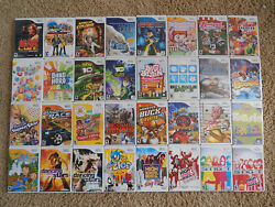 Nintendo Wii Games Choose From Large Selection 3.95-5.95 Each Buy 3 Get 1