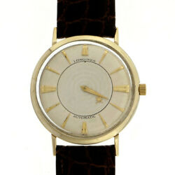 Vintage 1960 Longines Automatic Mystery Dial Gold Filled Strap Watch