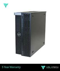 Dell T7820 Workstation 16gb Ram Silver 4112 3x 4tb And 256gb K2000