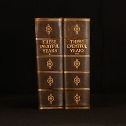 1924 2vol The Eventful Years The Twentieth Century In The Making First Edition
