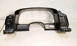 1991 Nissan 300ZX Speedometer Cluster Cover Bezel climate Light Switch  1991-96