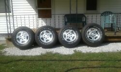 Wheels And Rims Andnbspoff A 2004 Chevy Trk