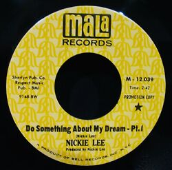Nickie Lee ✦ Do Something About My Dream ✦ Near Mint Soul Promo 45mala M-12039