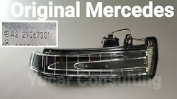 Orig Mercedes Indicator Reflectivve Right C-class W204 Additional C204 Fh