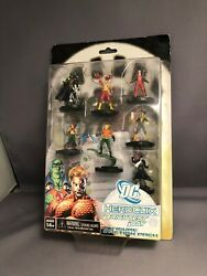 Dc Brightest Day Heroclix 7 Action Figures Pack And Two Sided Map And Cards
