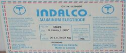 Indalco Aluminum Mig Welding Wire 4043 20 Spool .035 Made In Canada New
