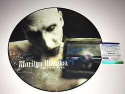 Marilyn Manson Signed Limited 12