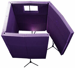 Auralex Max-wall 1141vb Portable Vocal Booth - Complete Acoustical Environment