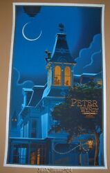 Laurent Durieux Peter Pan and Wendy Movie Poster Print Disney Art 2013