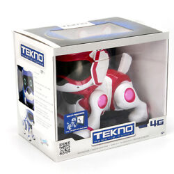 Tekno 4g Interactive Robotic Puppy - Pink/red/white Brand New In Box