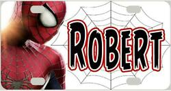 SPIDERMAN #4 MINI LICENSE PLATE Name Personalized for Kids Bikes Wagon Wall ATVs $13.95