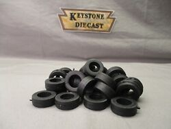 Kmm-01 2 Rubber Tires For 1/48 Or 1/50 Scale - Super Single, Steer, Tag, Float