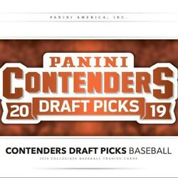 2019 Panini Contenders Draft Ncaa Baseball Trading Cards Pick From List