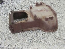 Oliver Super 55 Tractor Cover Panel And Good Serial Number Tag Ie 590a